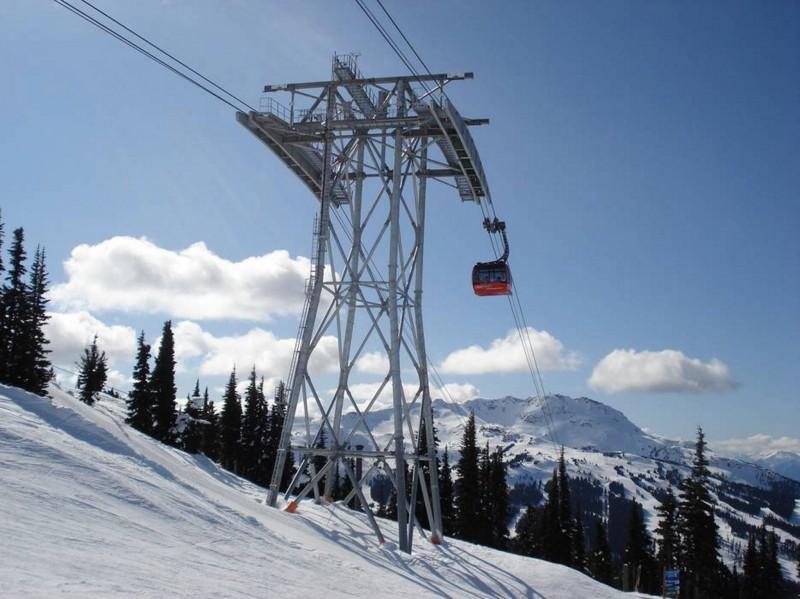 Dreiseil- Umlaufbahn in Whistler/Kanada, Quelle: http://www.skiresort.de
